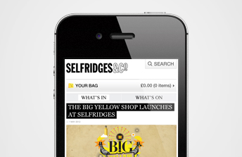 Selfridges What's On