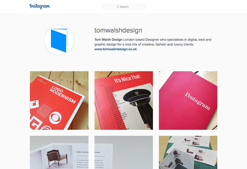 Tom Walsh Design - Instagram