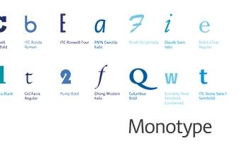 Monotype Glyph Set - Tom Walsh Design