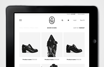 Tom Walsh Design – ASH Responsive website