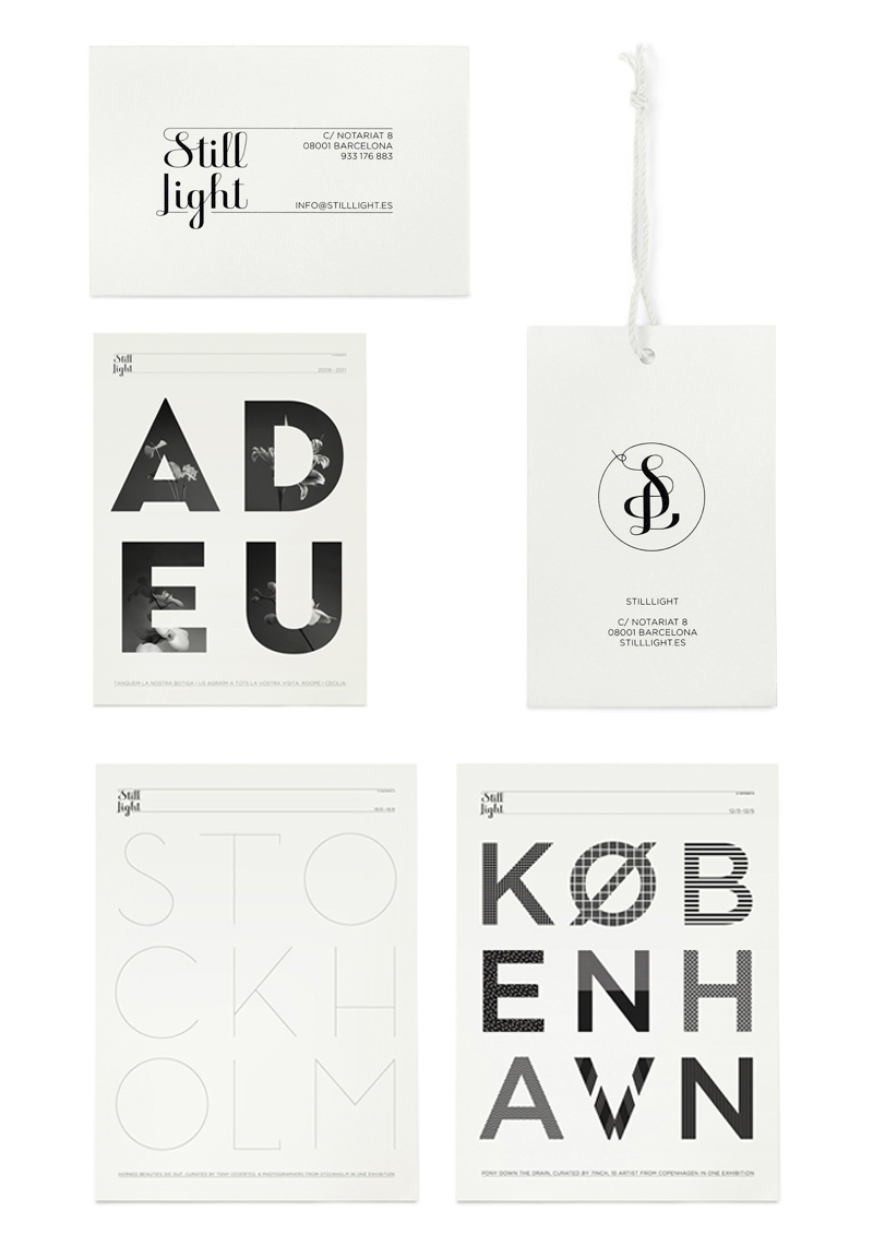 Still Light identity by Klas Ernflo