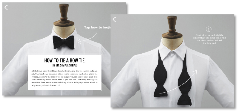 Tom Walsh Design - Mr Porter 'The Tux'