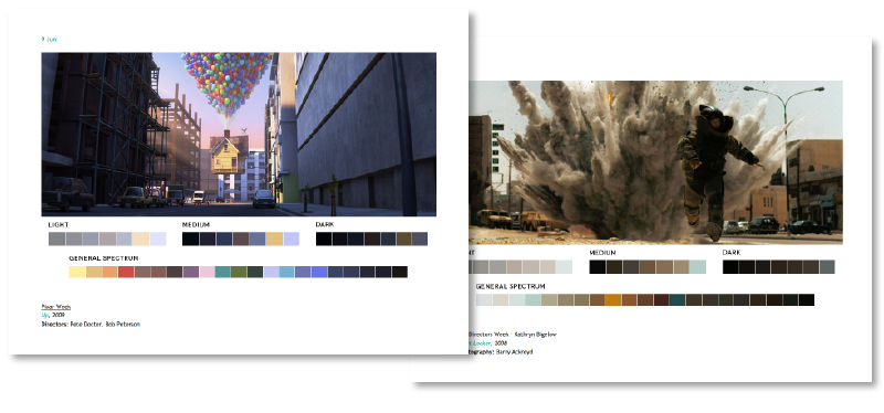 Tom Walsh Design - Movies In Colour